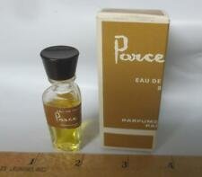 Vintage Parce Que! Eau de Toilette 80 Parfums Capucci Paris IOB 1/8 fl oz bottle