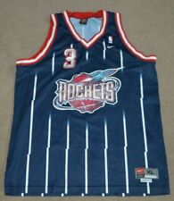 Vtg Steve Francis Houston Rockets Nike Swingman Basketball Jersey XL SEWN