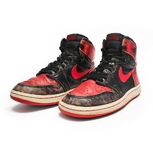 Nike Air Jordan 1 Bred 1985 Banned OG Size US 7 - BLK-R Rare sneakers