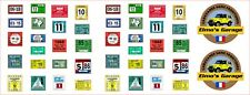 Scale crawler 1/10 / AXIAL. TRAXXAS TRX4 / Inspection stickers sheets USA