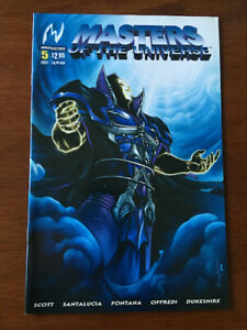 MASTERS OF THE UNIVERSE # 5 NM MVCREATIONS 2004 HE-MAN SKELETOR COVER