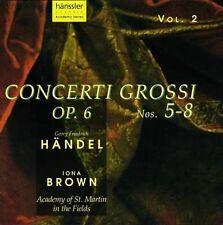 Iona Brown - Concerti Grossi Op.6, 5-8, CD;