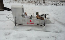 Toy Model WWII Full Metal Soviet Aerosan RF-8/GAZ-98 Snowmobile 1/6