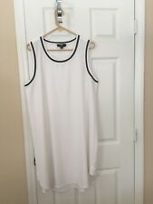 Womans ABS White Dress - Size XXL