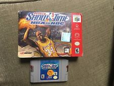 NBA Showtime: NBA on NBC (Nintendo 64, 1999) Used