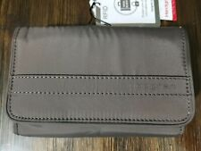 Hedgren Follis Rand Dual Compartment Wallet, Sepia Brown HFOL08