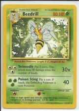 Pokemon Base Set Beedrill Rare Card 17/102 Vintage PSA Ready