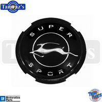 1963 Chevy Impala SS Steering Wheel Horn Ring Cap Emblem Insert - USA Trim Parts