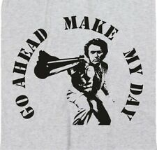 'Make My Day' Dirty Harry T-Shirt - Cowboy, Western, Clint Eastwood, S-XXL