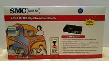 SMC Barricade 4-port 10/100 MBPS Broadband Router (installation CD not included)