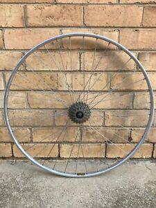 "Vintage Road Wheel - Sachs Freewheel, Campagnolo Hubs, Rigida Rims - 27 x 1"""