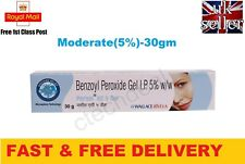 Benzoyl Peroxide Gel 5% Persol AC for Acne Vulgaris Spots Pimple Blackhead - 30g