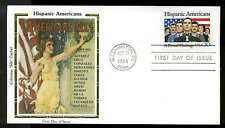 "U.S. FDC #2103 Colorano ""Silk"" Cachet Washington, DC Hispanic Americans"
