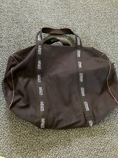 JP Morgan Asset Management Scarborough & Tweed Canvas Banker Bag Duffel BROWN