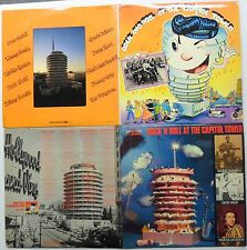 ROCK N ROLL At The CAPITOL TOWER Lot of 2 LPs #6546