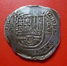 SPAIN SILVER COB 4 Reales, 1556-1598 (Granada) Philip II