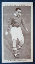 BIRMINGHAM CITY   Brown   Original Vintage Football Photo Card # CAT E