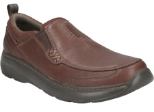 Mens Clarks Charton Step Casual Slip On Leather Slip On Shoes Sizes 6 to 10