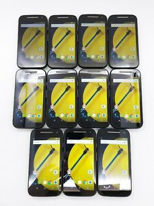 Motorola MOTO E (2nd Gen.) - 8GB - Black *Check IMEI* *Lot of 11*