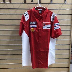 Alpinestars Ducati Merchandise SS-Shirt Size S & Ducati SnapBack