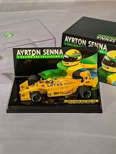 Ayrton Senna Collection No. 15, 1987 Lotus 99T Honda Turbo, F1, 1:43 Minichamps