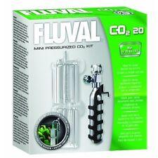 Aquarium Fluval Co2 Regulator Aquariums System Kit Mini Pressurized 20G-Co2 0.7