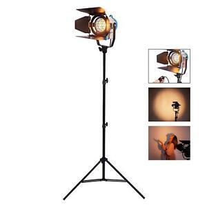 Studio Projecteur Spot 500W Fresnel Tungsten Lumière Support Léger Éclairage