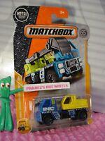 Matchbox MBX Superfast 2018 No 33 MBXcavator short blister card