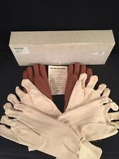 """NEW WOLF X-Ray Protective Gloves .5mm Lead 15"""" w/2 Pairs Of Cloth Gloves"""