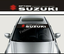 Front Windshield Banner Decal Vinyl Car Stickers for SUZUKI Window Car Styling