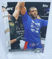 2015 Topps UFC Chronicles Aljamain Sterling Rookie Card #227