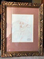 Atelier J.kaplan,sanguine,portrait,xx°.