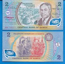 Samoa P-31 Two Tala Year ND 2002 Uncirculated Banknote