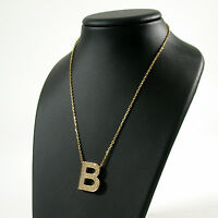 "Hals-Kette chain necklace Damen Gold 750 ""B"" Brillant brilliant cut diamond 1,10"