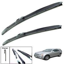 "Cadillac SRX 2004-2008 hybrid wiper blades set of front 22""21"""