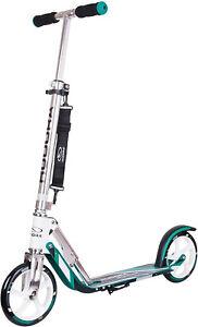 HUDORA BigWheel 205 ,Original mit RX Pro Technologie-Tret-Roller klappbar,türkis