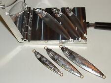 Saltwater Fish Jig -2.2 mold 2,4,6oz CNC Aluminum