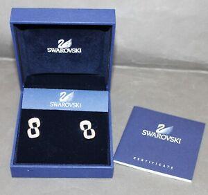 Brand New Swarovski Crystal Drop Earrings 'Faithful' - 973736 - Thames Hospice