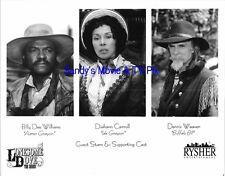 BILLY DEE WILLIAMS, DIAHANN CARROLL, DENNIS WEAVER Original TV Photo LONESOME...