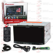 "2016 PIONEER DOUBLE DIN 2DIN 7"" TOUCHSCREEN CAR DVD CD PLAYER BLUETOOTH + REMOTE"