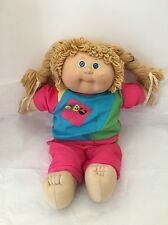 Cabbage Patch Doll With Original Clothes Vintage 1980's