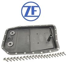 NEW OEM ZF Oil Pan with Bolts & Filter Kit for BMW GA6HP26Z Jaguar Land Rover