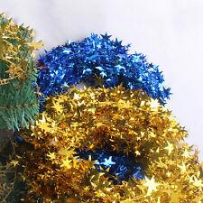 Weihnachtsbaum hängen Kiefer Girlande Sterne Urlaub Party Dekor Ornamen WH