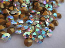 30 Gross SS12 / PP24 Crystals AB Rhinestones - Fully Machine Cut w/ Orig.Pack
