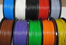 (0,1956 EUR/m) 25 m Kabel Litze Schaltlitze Kupferlitze 0,5 mm², freie Farbwahl