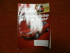 Automobile Magazine Issue (February 2000 ) Automobile of the Year Ford Focus