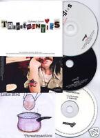 THREATMANTICS Upbeat Love UK promo CD + 2 bonus CDs