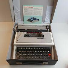Olivetti Underwood 315 Typewriter Vintage 1970's Portable Spanish (Lettera 31)