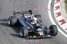 Elio De Angelis JPS Lotus 87 Dutch Grand Prix 1981 photo 1