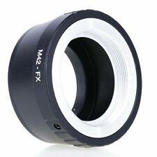 USA Leica LM42 Lens to Fujifilm X Mount Adapter for Fuji X-Pro1 X-M1 X-E1 X-E2